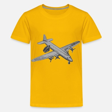 Old Airplane Landed Old Airplane - Kids' Premium T-Shirt