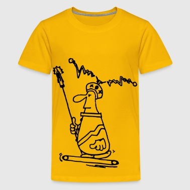 Power Walking Walk The Treadmill - Kids' Premium T-Shirt