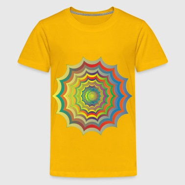 Spider Web Hypnotic Revitalized - Kids' Premium T-Shirt