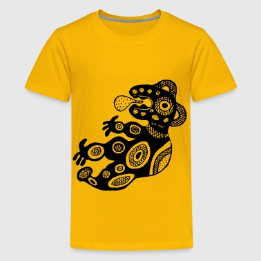 Aboriginal Art Aboriginal design 2 - Kids' Premium T-Shirt