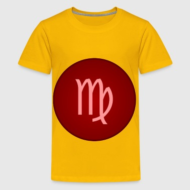 Virgo symbol - Kids' Premium T-Shirt