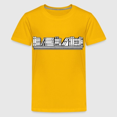 Bookshelf - Kids' Premium T-Shirt