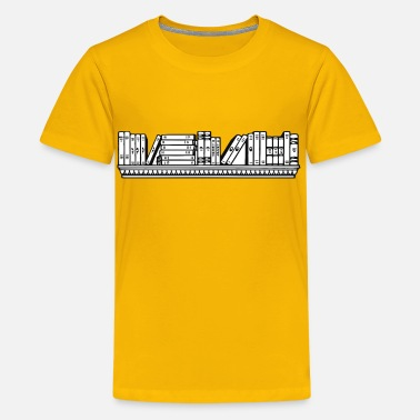Ledge Bookshelf - Kids' Premium T-Shirt