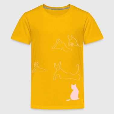 Posh cat - Kids' Premium T-Shirt