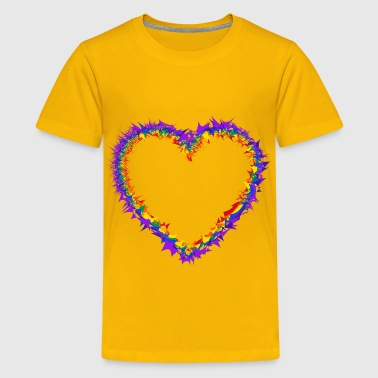 Thorny Thorny Heart - Kids' Premium T-Shirt