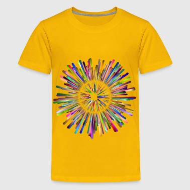 Multicultural Explosion 5 No Background - Kids' Premium T-Shirt