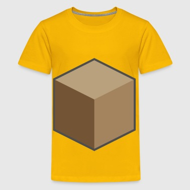 Brown sugar cube - Kids' Premium T-Shirt
