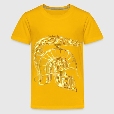 Children Of Hurin Dragon Helm Gold No Background - Kids' Premium T-Shirt