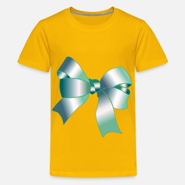 Silver Ribbon Shiny Reflective Silver Ribbon - Kids' Premium T-Shirt