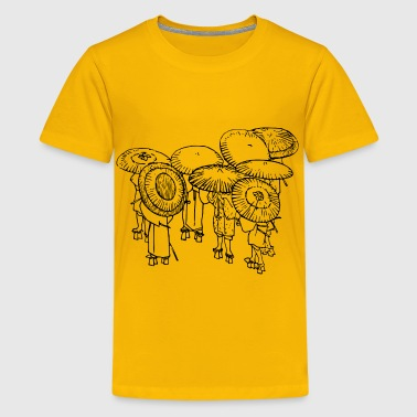 Japan Umbrella Umbrellas - Kids' Premium T-Shirt