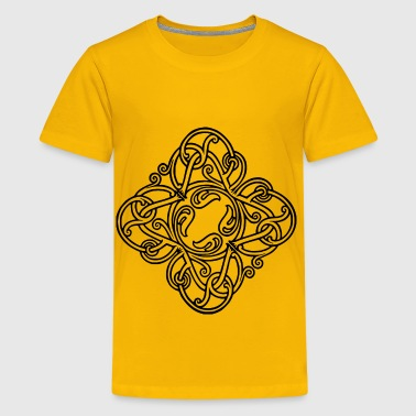 Interlock Interlocking design - Kids' Premium T-Shirt