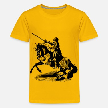 Paladins Champion Knight on horseback 4 - Kids' Premium T-Shirt