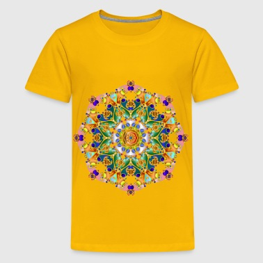 Hexagonal Tessellation Design - Kids' Premium T-Shirt