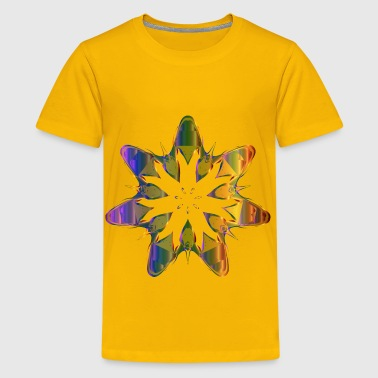 Pollinating Flower 3 - Kids' Premium T-Shirt