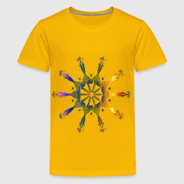 Pollinating Flower 6 - Kids' Premium T-Shirt