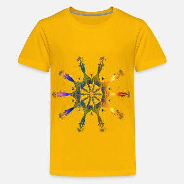 Pollinate Pollinating Flower 6 - Kids' Premium T-Shirt