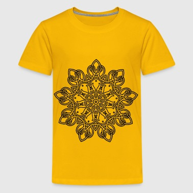 Interlocking Geometric Design 10 - Kids' Premium T-Shirt