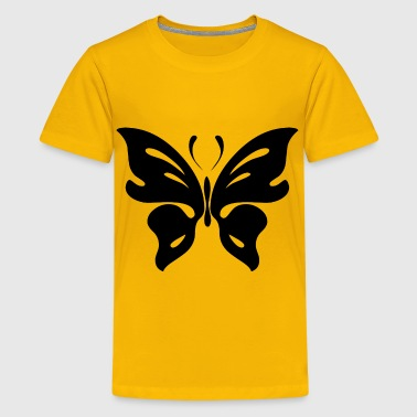 Butterfly Silhouette - Kids' Premium T-Shirt