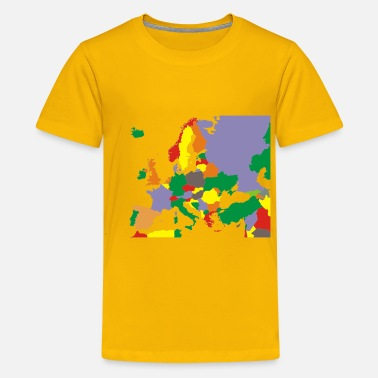Europe Political Map Of Europe Restored - Kids' Premium T-Shirt