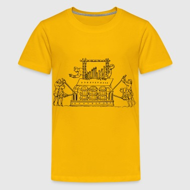 Norman organ - Kids' Premium T-Shirt