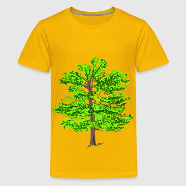 color tree - Kids' Premium T-Shirt