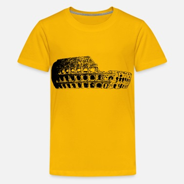 Stadium Inside Coliseum - Kids' Premium T-Shirt