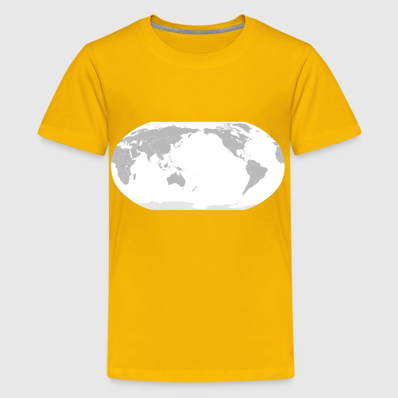 World Map Japan POV - Kids' Premium T-Shirt