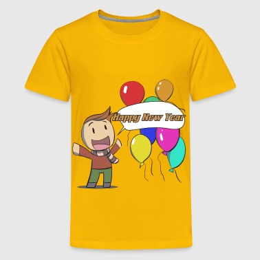 Man Of The Year Happy New Year Man - Kids' Premium T-Shirt