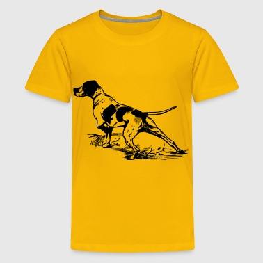 Hunting Dog - Kids' Premium T-Shirt