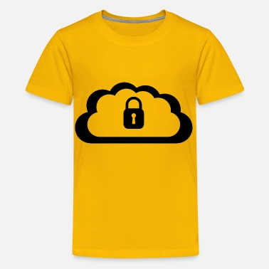 Secure Cloud Security - Kids' Premium T-Shirt