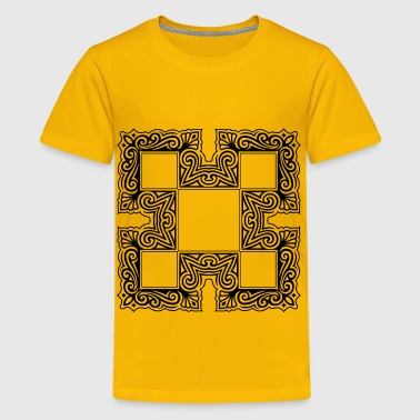 Ornate Flourish Design 29 - Kids' Premium T-Shirt