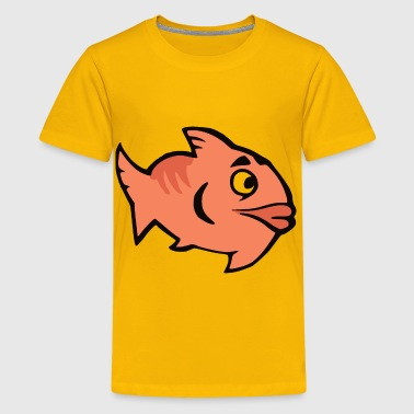 Cartoon Fish - Kids' Premium T-Shirt