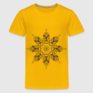 Flourish Circle Extended 5 - Kids' Premium T-Shirt