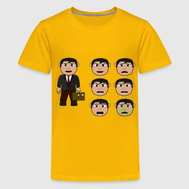 Salary Man - Kids' Premium T-Shirt