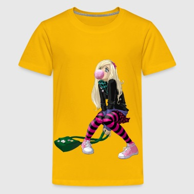Emo Girl - Kids' Premium T-Shirt