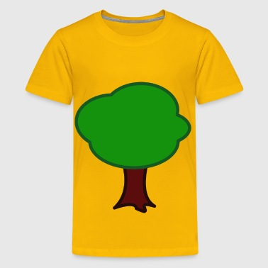 Tree Form Tree - Kids' Premium T-Shirt