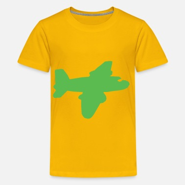 With Airplane Airplane - Kids' Premium T-Shirt
