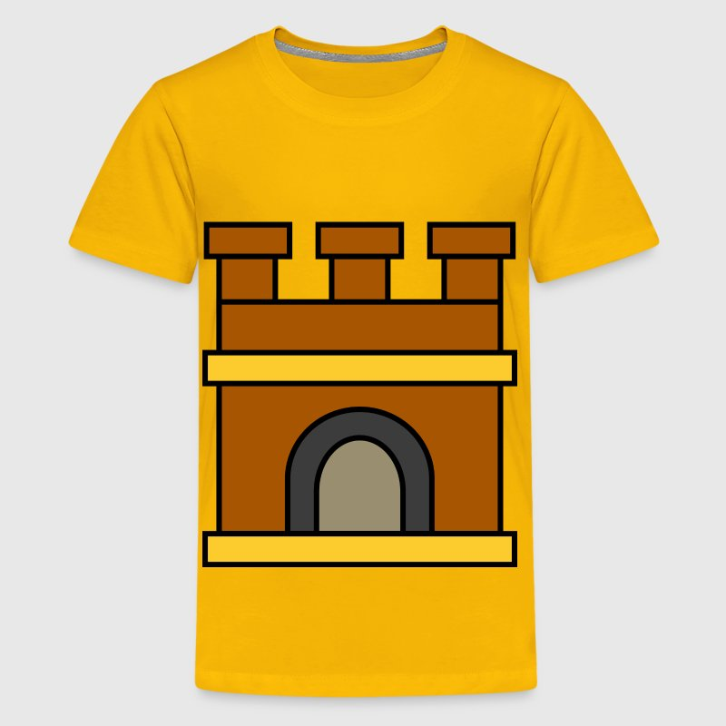 Castle keep - Kids' Premium T-Shirt