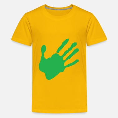 Child Hand Print Hand - Kids' Premium T-Shirt