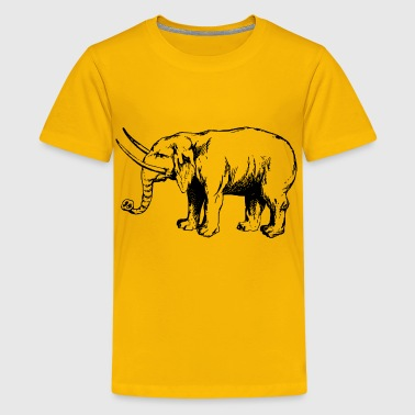 Hulking Out Elephant 4 - Kids' Premium T-Shirt