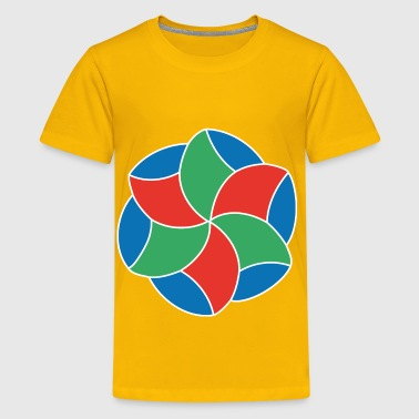 Zendala art - Kids' Premium T-Shirt