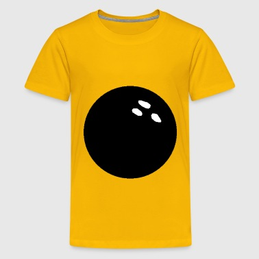 Bowling Ball - Kids' Premium T-Shirt