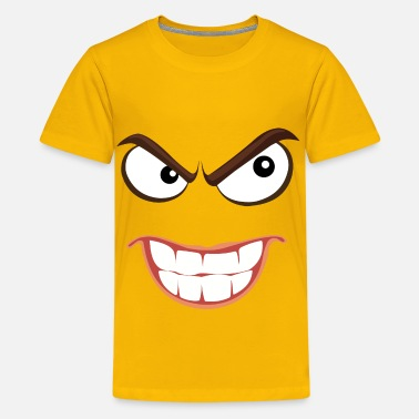 Smiley Face Hardcore Sinister Smiley Face - Kids' Premium T-Shirt