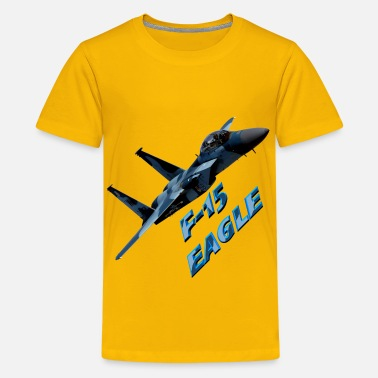 F-15 F-15 Eagle - Kids' Premium T-Shirt