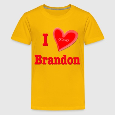I Love Brandon - Kids' Premium T-Shirt
