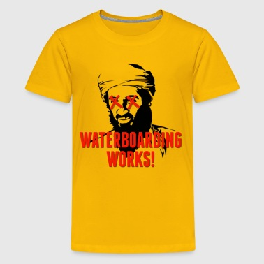 Waterboarding Works Osama Bin Laden - Kids' Premium T-Shirt