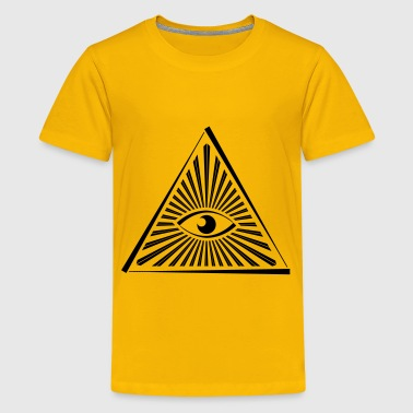 All Seeing Eye Pyramid - Kids' Premium T-Shirt
