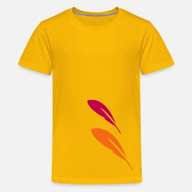 Quill-pen Feather Quill - Kids' Premium T-Shirt