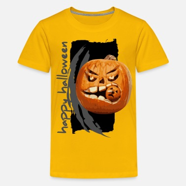 Happy Pumpkin Halloween halloween pumpkin - Kids' Premium T-Shirt