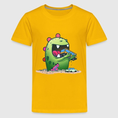 Cute Monster - Kids' Premium T-Shirt